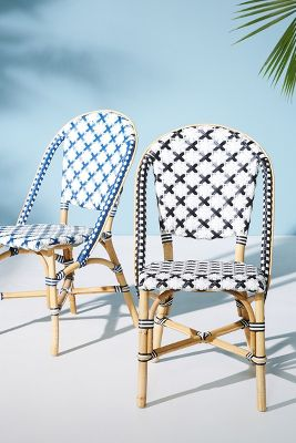 outdoor french bistro chairs godrej revolving chair 7032 woven indoor dining anthropologie slide view 6