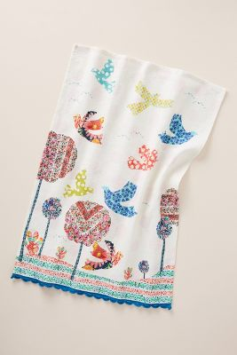 kitchen towels faucets reviews tea dish anthropologie anabelle towel