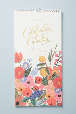 2019 Calendars & 2019 Planners   Anthropologie
