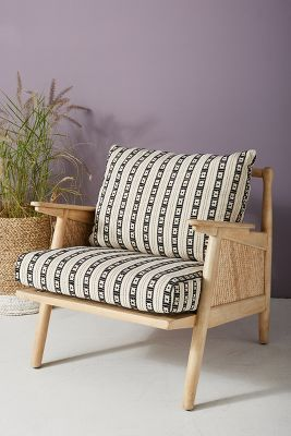 where can i buy cane for chairs colorful fabric side tapestry chair anthropologie