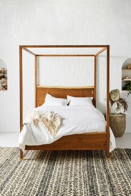 white bohemian hanging chair mesh office chairs canada bed frames unique headboards anthropologie prana live edge four poster