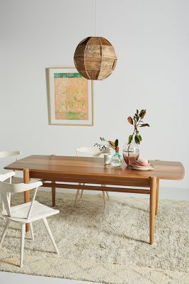 unique kitchen tables container store dining anthropologie corbyn table