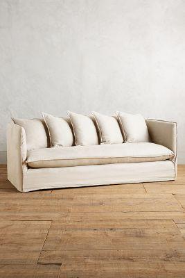 belgian linen sofa sofascore copenhagen vs porto carlier slipcover anthropologie