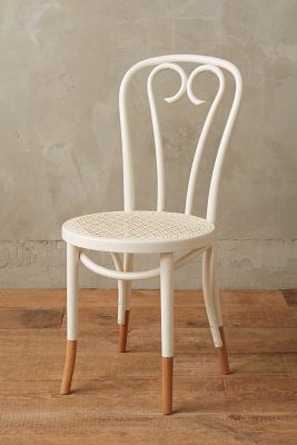 bentwood dining chair fisher price laugh and learn scrolled heart anthropologie