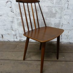 Mid Century Chairs Uk Ella Dining Chair Antiques Atlas - Danish By Folke Palsson For Fdb Mobler
