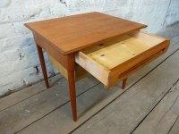 Antiques Atlas - Danish Teak Side Coffee Table By O.P ...
