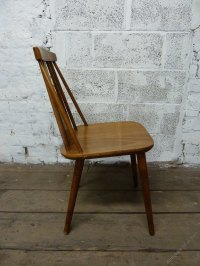 Antiques Atlas - Mid Century Danish Stick Back Chair