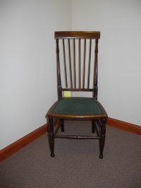 Victorian Mahogany Bedroom Chair - Antiques Atlas