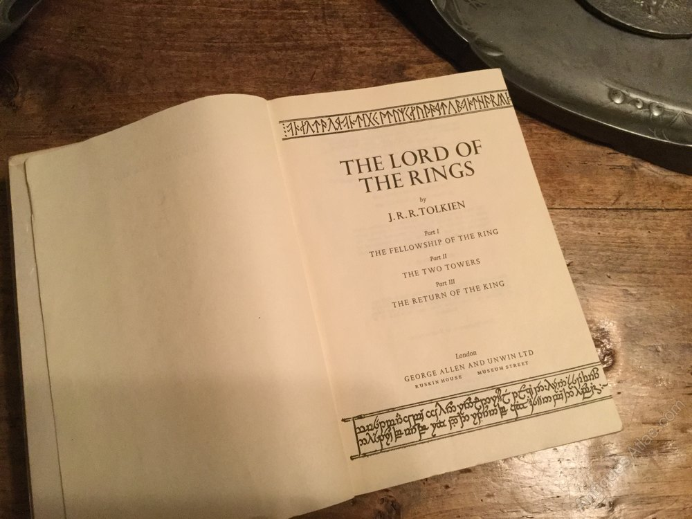 Antiques Atlas Lord Of The Rings Trilogy By Tolkien