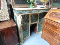 Antiques Atlas - Fake Marble Fireplace With Drawers & Cupboard