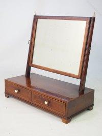 Antiques Atlas - Antique Regency Toilet Mirror Or Vanity ...