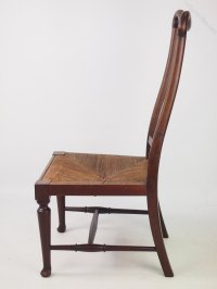 Arts And Crafts Mahogany Bedroom Chair