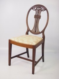 Edwardian Mahogany Desk Chair Dressing Table Chair