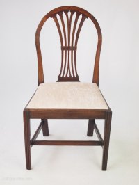 Georgian Mahogany Desk Chair Or Side Chair - Antiques Atlas