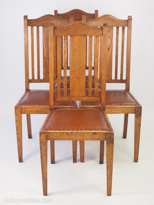 vintage oak dining chairs hanging chair mauritius set 4 circa 1920s antiques atlas