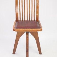 Revolving Chair Mechanism Safety First High Small Oak Swivel Desk - Antiques Atlas