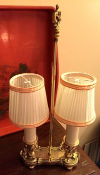 Antiques Atlas - 1900 French Bouillotte Lamp Brass