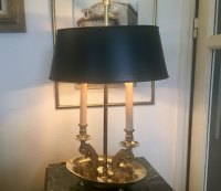 Antiques Atlas - Tall Bouillotte Empire Style Desk Lamp