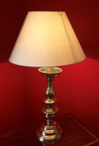 Antiques Atlas - Traditional Table Lamp Solid Brass