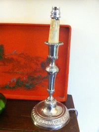 Antiques Atlas - Vintage Table Lamp In Chrome