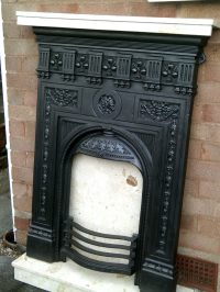 Antiques Atlas - Victorian Cast Iron Fireplace