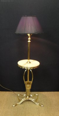 Antiques Atlas - Art Nouveau Floor Lamp