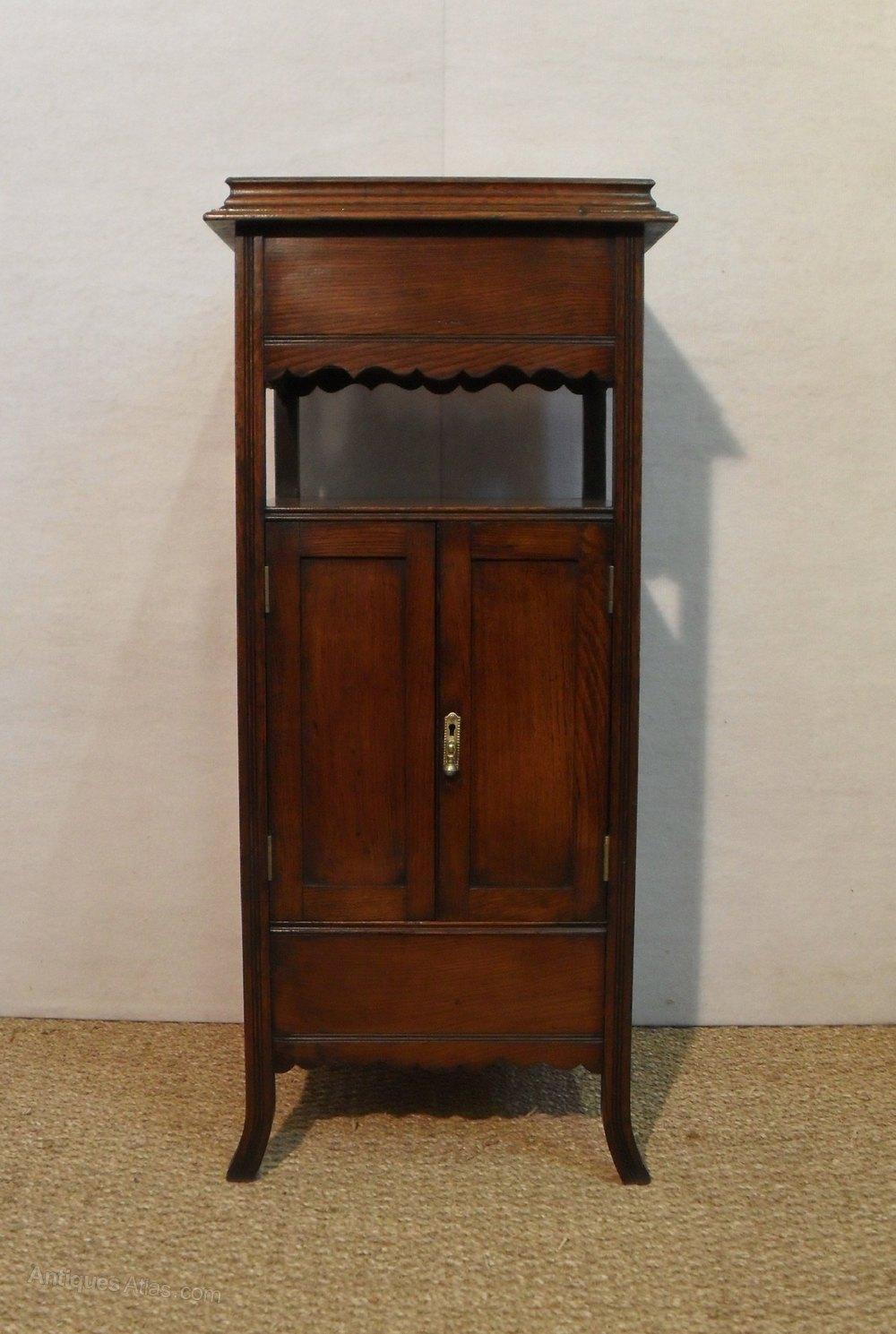 Oak Smokers Cabinet  Antiques Atlas