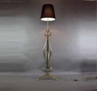 Antiques Atlas - Art Nouveau Brass Adjustable Standard ...