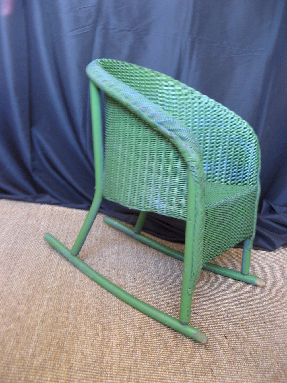 antique rocking chairs for sale anthropologie hanging chair children's lloyd loom - antiques atlas