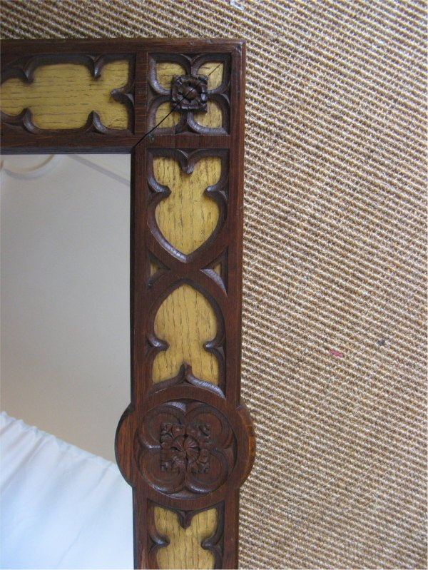 Gothic Revival Wall Mirror