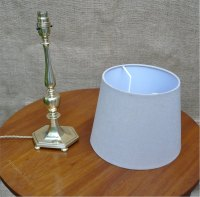 Antiques Atlas - Quality Table Lamp In Brass
