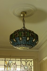 Antiques Atlas - Stunning Hanging Lamp Shade With Shells ...