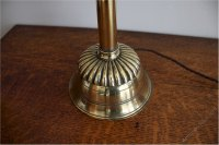 Antiques Atlas - Victorian Brass Table Lamp By Hedges
