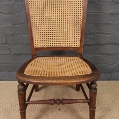 Antique Cane Chairs Leather Glider Chair 19th Century Back Antiques Atlas