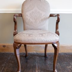 Antique Queen Anne Chair Childrens Chairs Ikea Early 20th Century Style Elbow - Antiques Atlas