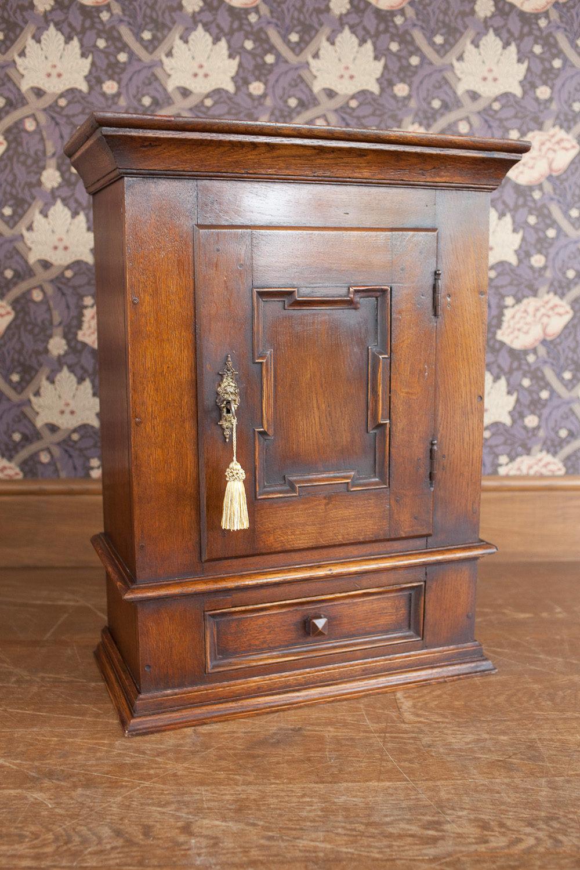 Oak Wall Cabinet  Antiques Atlas