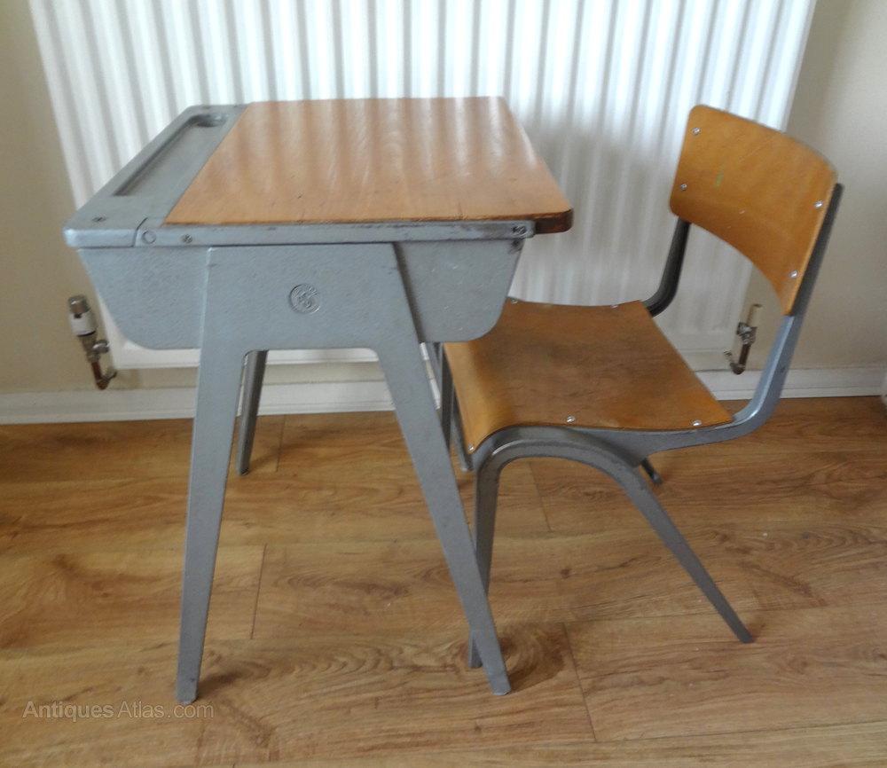 Antiques Atlas  Childs School Desk  Chair