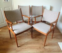 Antiques Atlas - Danish Mid Century Dining Chairs Johannes ...