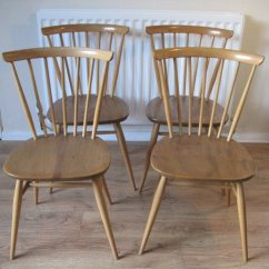 Ercol Chair Design Numbers Carp Fishing Low Antiques Atlas Retro Dining Chairs Golden Dawn