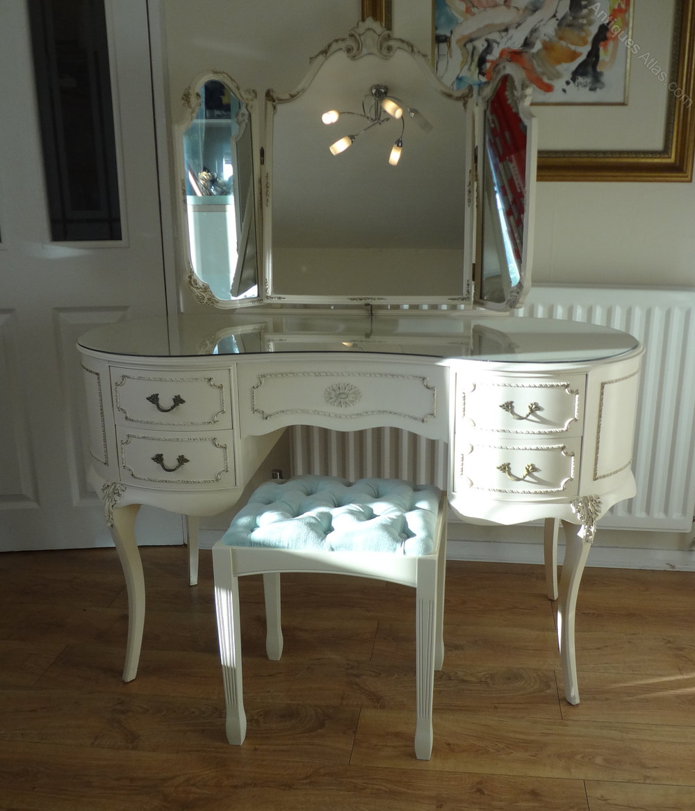 Antiques Atlas  French Louis Dressing Table  Stool