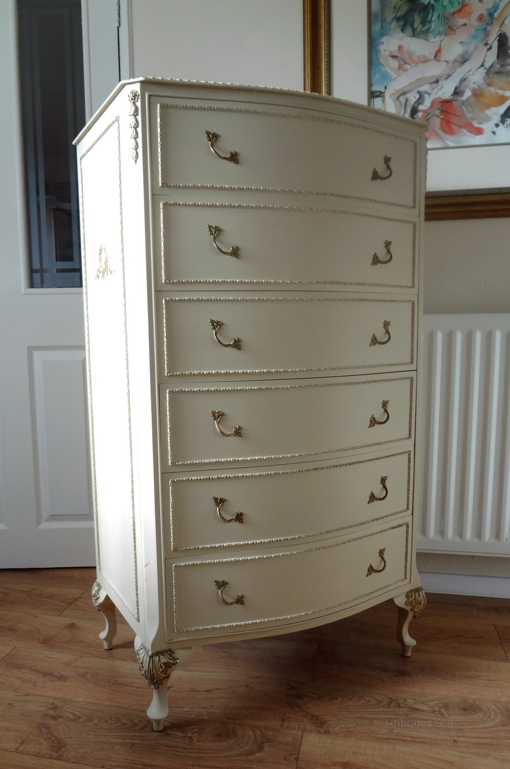 Antiques Atlas French Louis Painted Chest Of Drawers