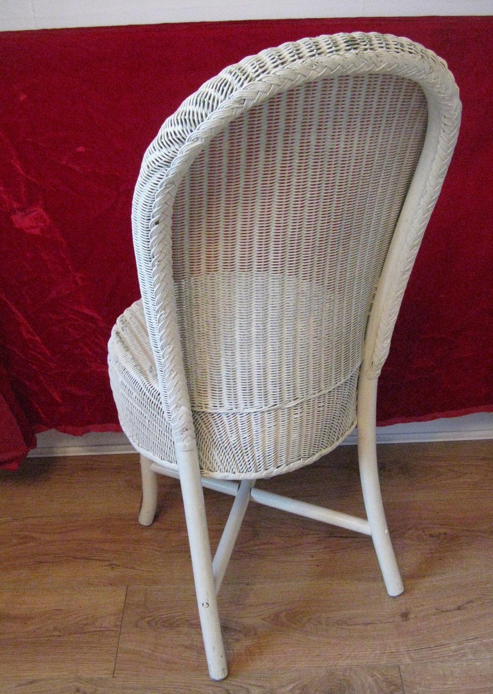 white wire chair ergonomic nsn antiques atlas - lloyd loom vintage