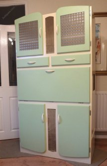 Antiques Atlas - Mid Century Retro Kitchen Larder Cabinet