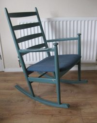 Antiques Atlas - Retro Danish Rocking Chair Niels Eilersen