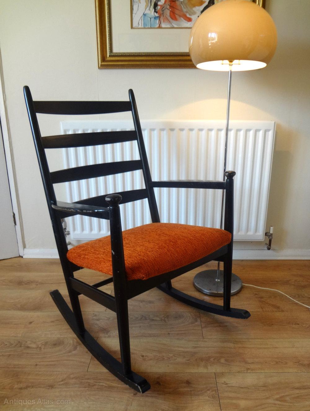 Antiques Atlas  Retro Danish Rocking Chair