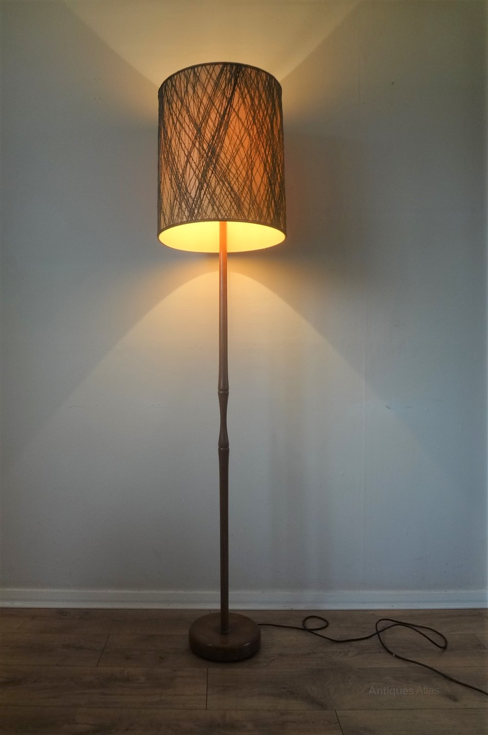 Antiques Atlas  Danish Teak Mid Century 1950s Floor Lamp