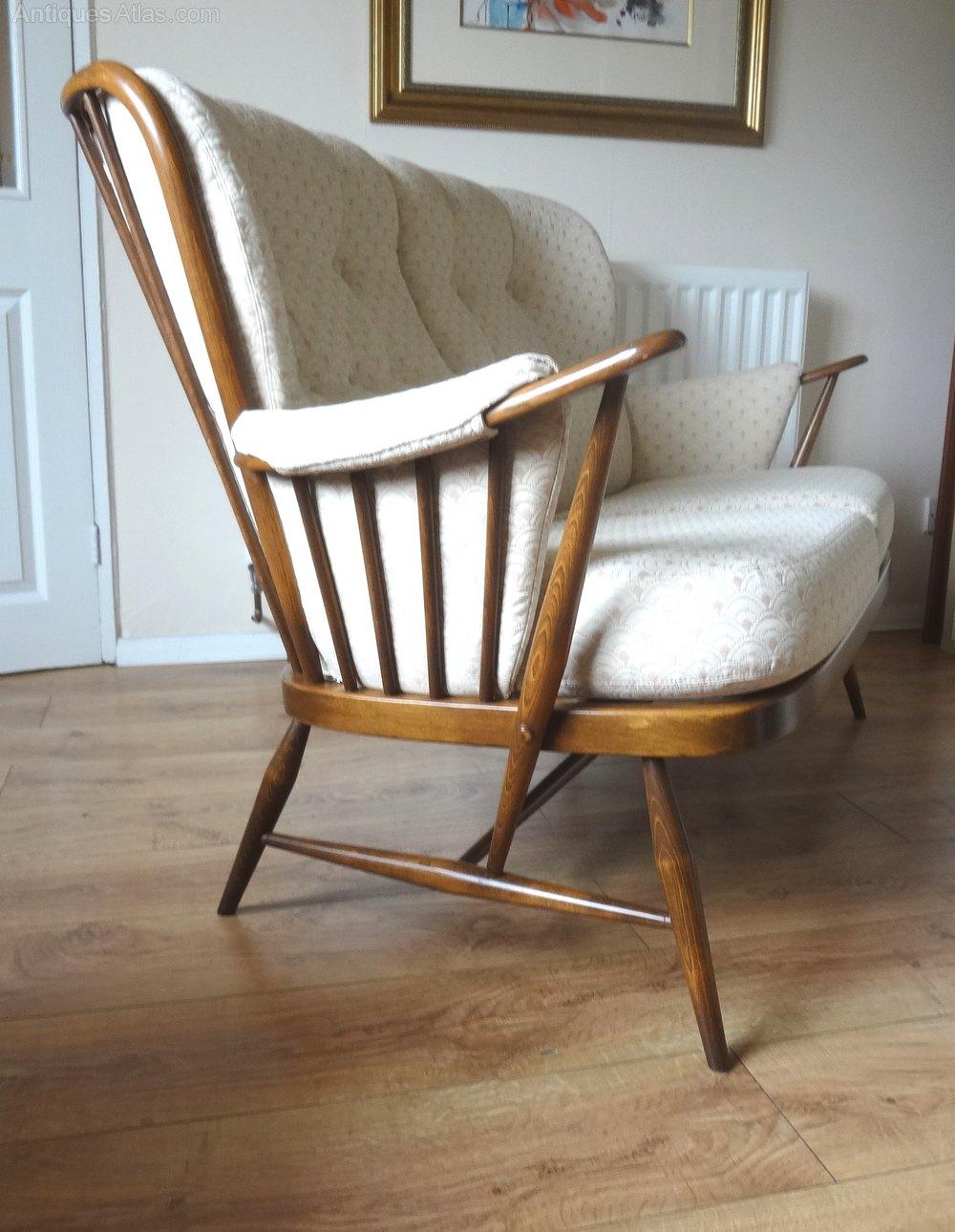 patterned sofas uk denver oklahoma sofascore antiques atlas - retro ercol windsor golden dawn sofa