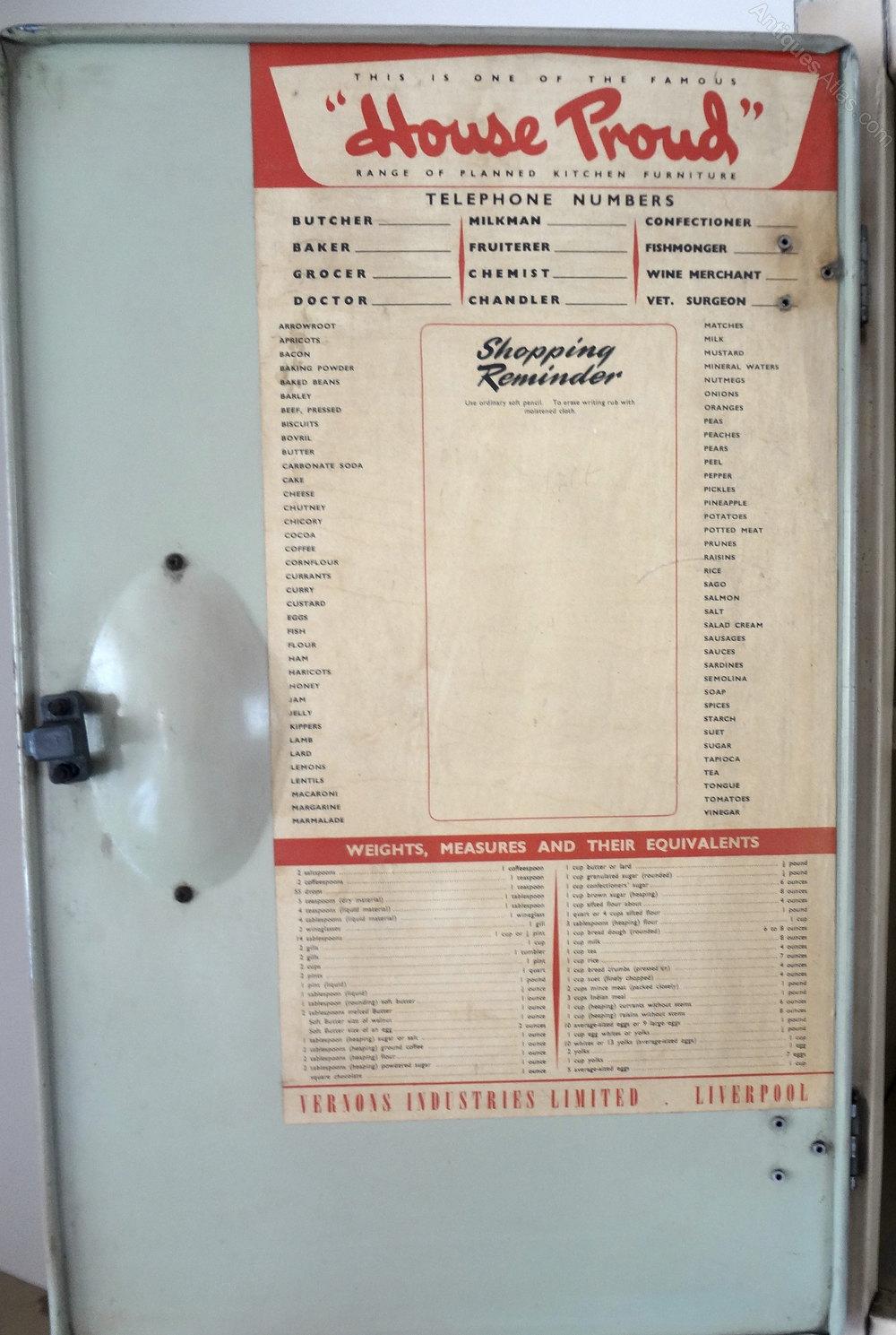 antique metal kitchen cabinet booth antiques atlas - retro larder cupboard