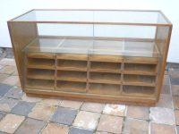 Oak Haberdashery Cabinet/ Shop Counter - Antiques Atlas