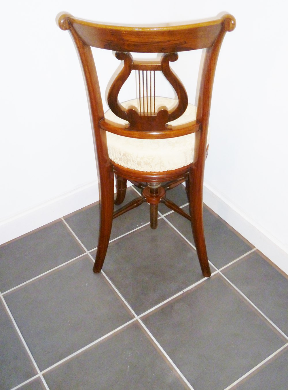 Cellist Or Piano Music Chair  Antiques Atlas